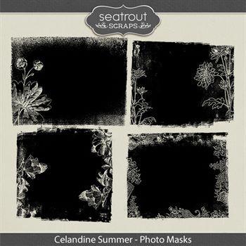 Celandine Summer Photo Masks