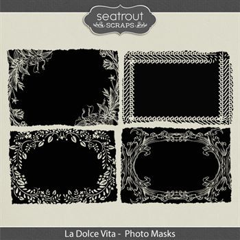 La Dolce Vita Photo Masks