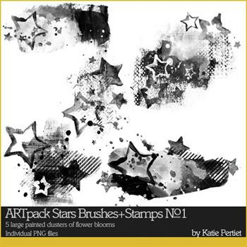 Artpack Stars No. 01 Brushes And Stamps