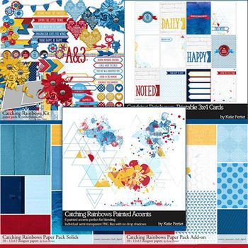 Catching Rainbows Scrapbooking Collection