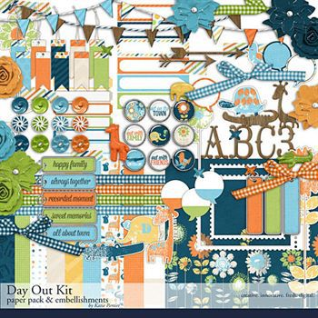 Day Out Scrapbooking Kit