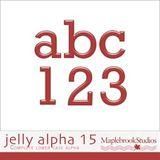 Jelly Alphabet No. 15