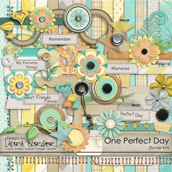One Perfect Day Scrap Kit
