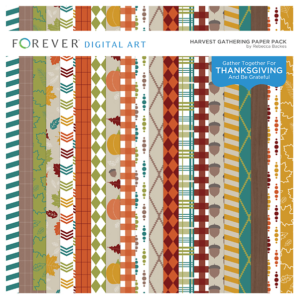 Harvest Gathering Paper Pack