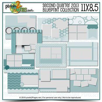 11x8.5 Second Quarter 2013 Blueprint Collection