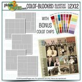 12x12 Color-blocked Blueprint Collection
