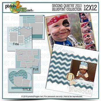 12x12 Second Quarter 2013 Blueprint Collection