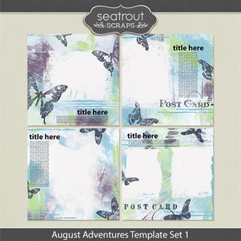 August Adventures Template Set 1