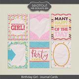 Birthday Girl Journal Cards