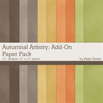 Autumnal Artistry Add-on Paper Pack