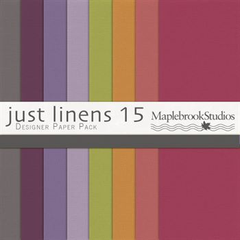 Just Linens Paper Pack No. 15
