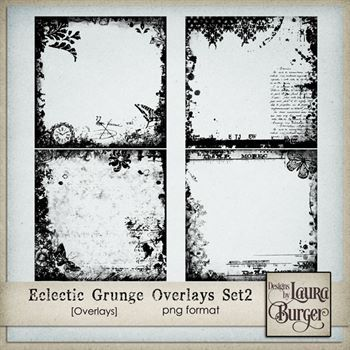Eclectic Grunge Overlays Set 2
