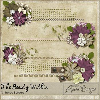 The Beauty Within Stitched Borders