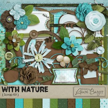With Nature Scrap Kit