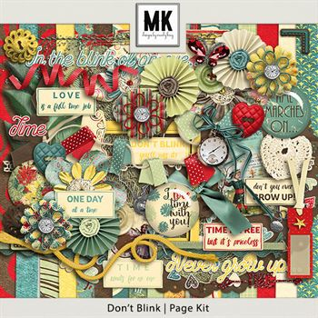 Don't Blink - Page Kit