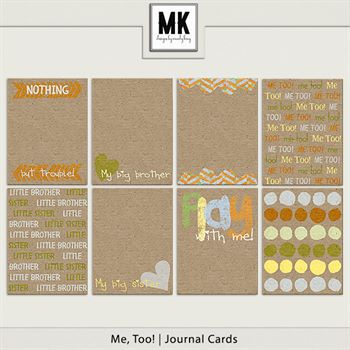 Me, Too! - Journal Cards