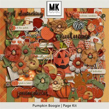 Pumpkin Boogie - Page Kit