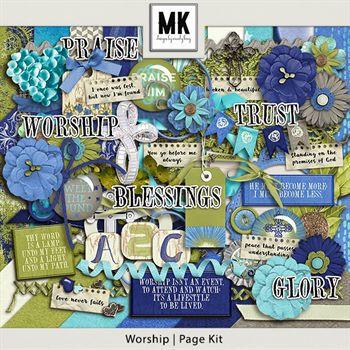 Worship - Page Kit