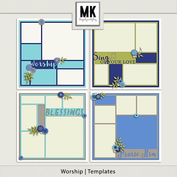 Worship - Template Set