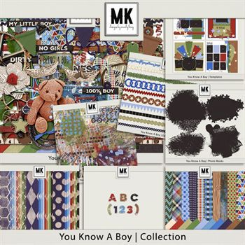 You Know A Boy - Discounted Bundle