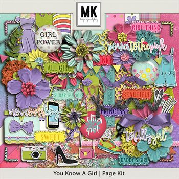 You Know A Girl - Page Kit
