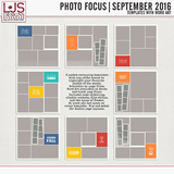 Photo Focus - September 2016