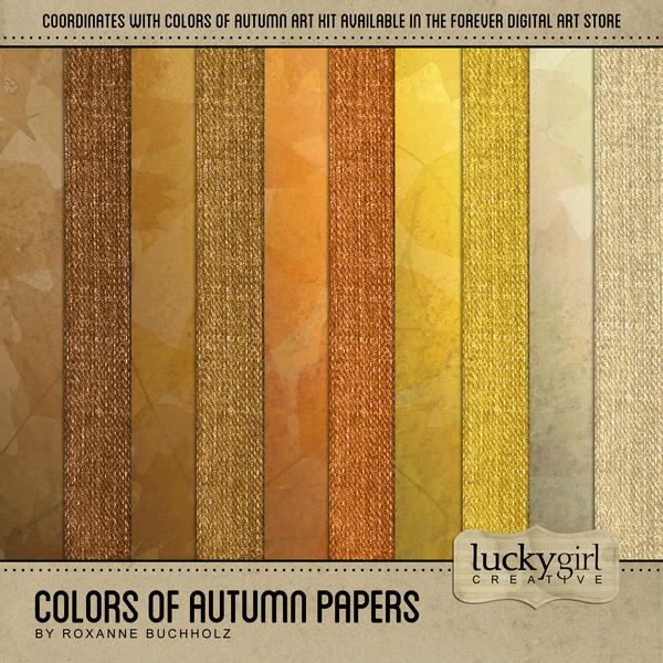 Colors Of Autumn Papers