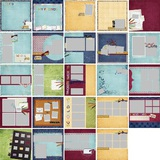 School Days Predesigned Pages 12x12
