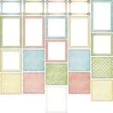 Baby Birdies Frames And Mats