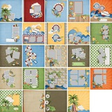 Tropical Getaway Predesigned Pages 12x12