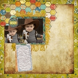 Boots And Buckles 12x12 Digital Predesigned Pages