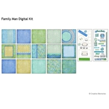 Family Man Digital Kit