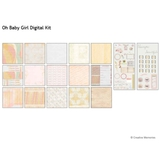 Oh Baby Girl Digital Kit