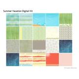 Summer Vacation Digital Kit