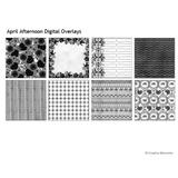 April Afternoon Digital Overlays