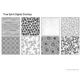 True Spirit Digital Overlays