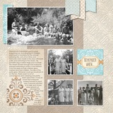 Vintage Chic Digital Overlays