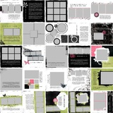 Simply Stylish 12x12 Predesigned Pages