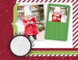 Cheerful Candy Shoppe 11x8.5 Predesigned Pages