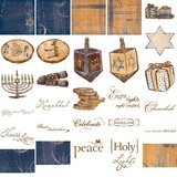 Jewel Hanukkah Digital Additions