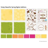 Simply Beautiful Spring Digital Additions