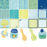 Baby Boy Bright Digital Kit