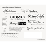 Digital Expressions Of Christmas