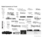 Digital Expressions Of Travel