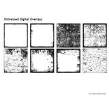 Distressed Digital Overlays