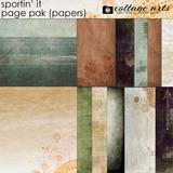 Sportin' It Page Pak