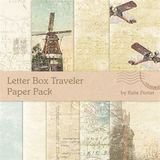 Letter Box Traveler Paper Pack