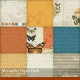 Monarchy Scrapbook Kit