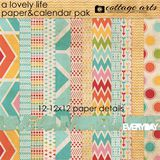 A Lovely Life Paper & Calender Pak