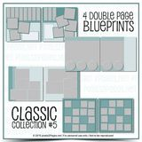 12x12 Classic Blueprint Collection #5